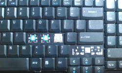 damaged laptop keyboard